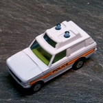 CORGI JUNIORS Range Rover Police car diecast model vgc @SOLD@